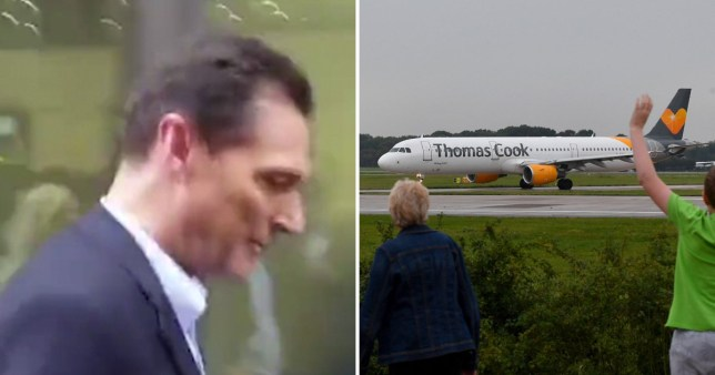 Thomas Cook chief remains silent after long day of crisis talks