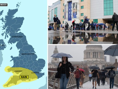 Autumn blasts summer away as Met Office issues warning for heavy rain
