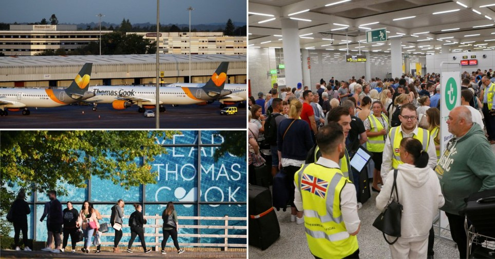 Thomas Cook latest news as airline ceases trading leaving 600,000 stranded