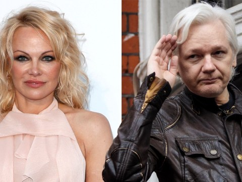 Pamela Anderson believes Julian Assange's 'life is at risk' and he's 'unhealthy' in Belmarsh Prison