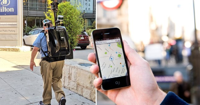 The tech giant's army of employees is working on a huge update to the Maps app (Picture: Getty/ Andrew Arruda/ Twitter)