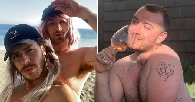 Sam Smith living it up in the sun shows just how much they don't care about pronoun change backlash