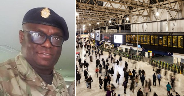 Christian Tuvi died at Waterloo Station on Wednesday.