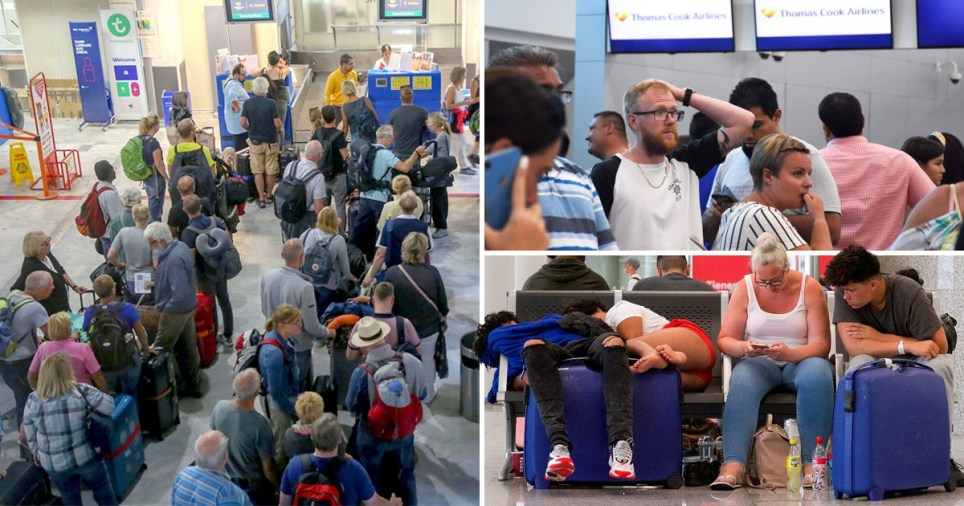 Operation Matterhorn underway as Thomas Cook travellers fly home