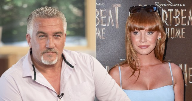 Paul Hollywood and Summer Monteys Fullam