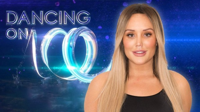 Charlotte Crosby teases Dancing On Ice announcement