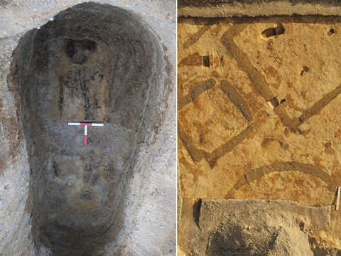 'Ghostly outlines' of woman who died 1,400 years ago discovered
