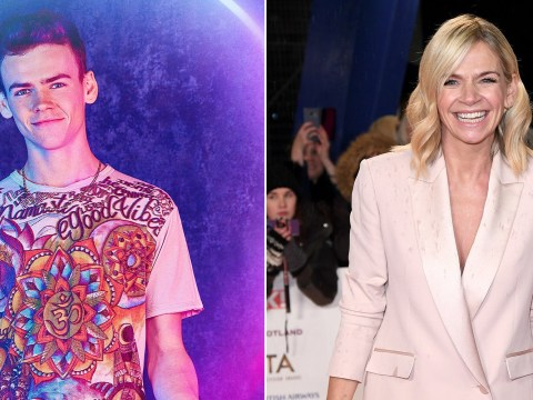 'Proud mama' Zoe Ball wishes son Woody, 18, good luck as he debuts on The Circle