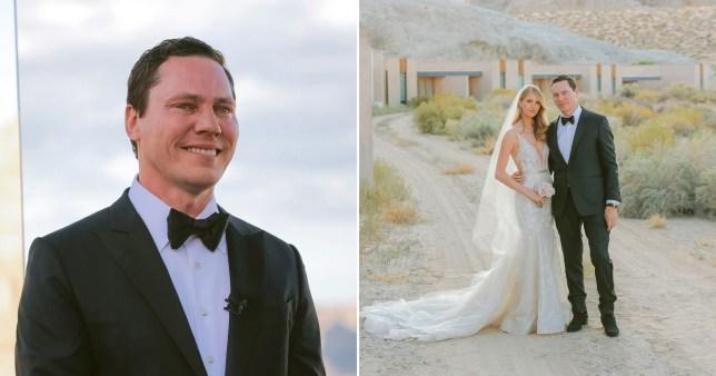 Tiesto wedding