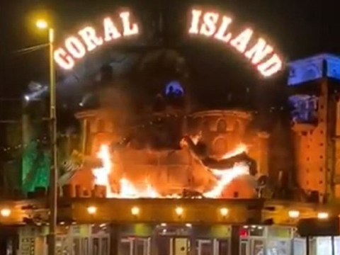 Blackpool's iconic Coral Island slot machine arcade rocked by fire