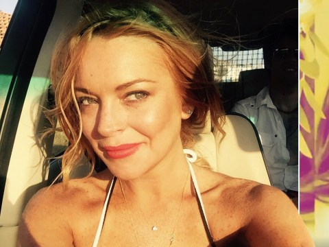 Lindsay Lohan reveals video for comeback single Xanax and it's about 'letting go of the past'