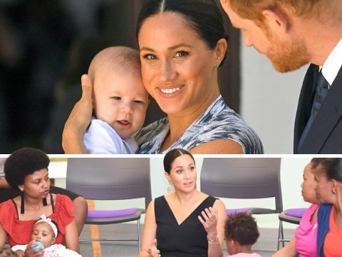 Meghan says being a working mum and going on tour with Archie is 'a lot'