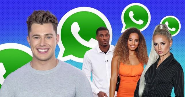 Curtis Pritchard insists Love Island WhatsApp chat still 'popping' amid Ovie Soko's snub