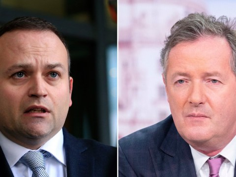MP tells Piers Morgan to go 'f**k yourself' in Twitter spat
