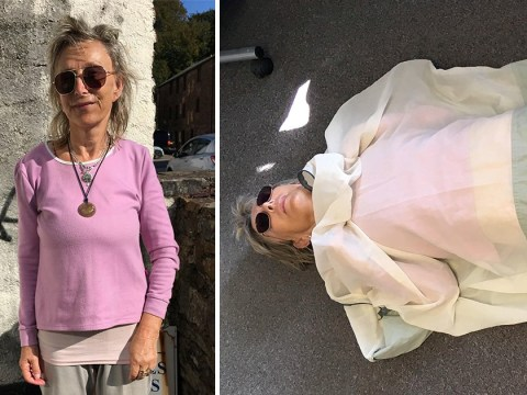 Woman with 'WiFi allergy' sleeps in copper sleeping bag and avoids big towns