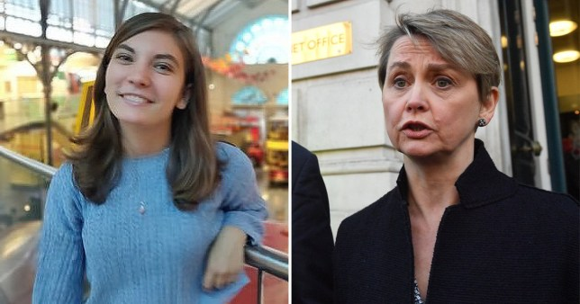 Ellie Cooper and Labour MP Yvette Cooper