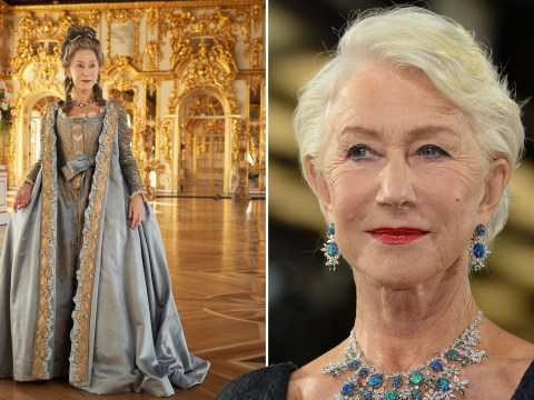 Helen Mirren: I couldn't get my head around Catherine The Great's sexual liberation – so I thought like a man