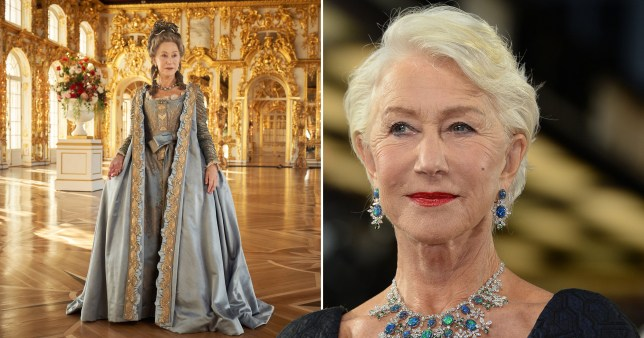 Helen Mirren is Catherine The Great