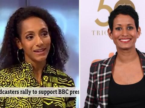 BBC's Naga Munchetty ruling 'legitimises racist opinions' claims journalist Afua Hirsch