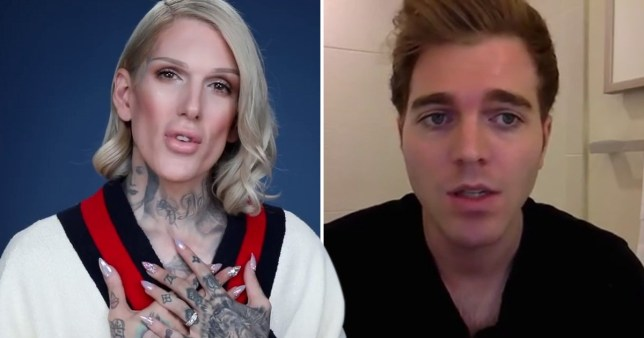 Jeffree Star and Shane Dawson