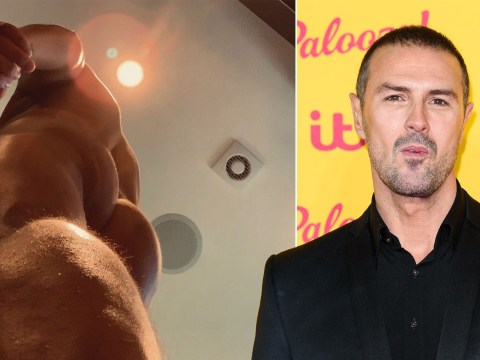 Paddy McGuinness posts NSFW accidental bum photo and he's definitely been doing his squats