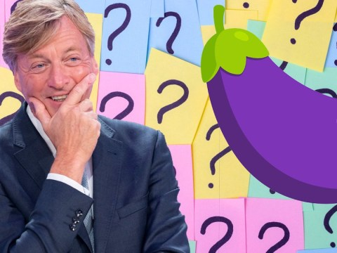 Richard Madeley confused by aubergine emoji on The Circle and he's clearly never used it