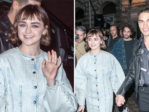 Maisie Williams and boyfriend Reuben Selby totally steal the show at Paris Fashion Week