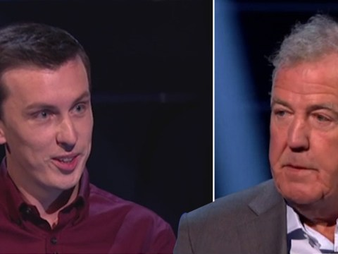 Jeremy Clarkson scoffs at Who Wants To Be A Millionaire? player over epic fail: 'You just said that on national TV!'