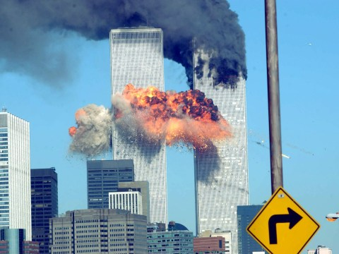 What time did the planes hit the Twin Towers on September 11 and how many firefighters died?