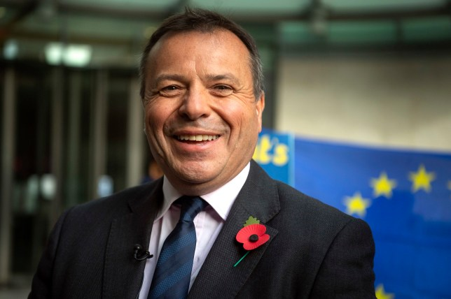 "File photo dated 04/11/18 of Insurance tycoon Arron Banks, who has come under fire for a tweet about 16-year-old climate change activist Greta Thunberg. PRESS ASSOCIATION Photo. Issue date: Thursday August 15, 2019. The Leave.EU founder responded to a post by Green party MP Caroline Lucas about Greta's voyage across the Atlantic on a racing yacht, writing: ""Freak yachting accidents do happen in August ..."" See PA story POLITICS Banks. Photo credit should read: Victoria Jones/PA Wire"