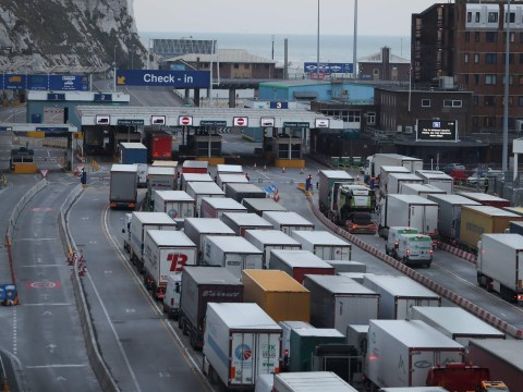 Lorries face two day wait at Dover after no-deal Brexit, leaked documents warn