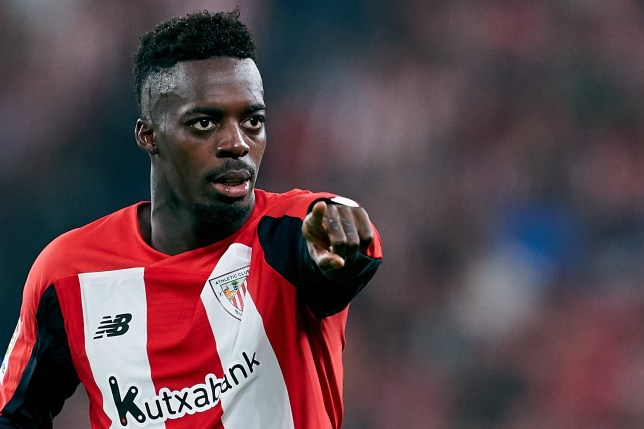 Inaki Williams was linked with Manchester United this summer