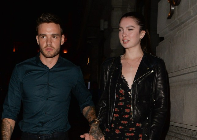 Liam Payne seen in Mayfair holding hands with Instagram star Maya Henry