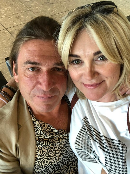 Anthea Turner and Mark Armstrong, engagement announcement. posted by Scala Radio @ScalaRadio Huge congratulations to @antheaturner1 & Mark Armstrong who have just announced their engagement!