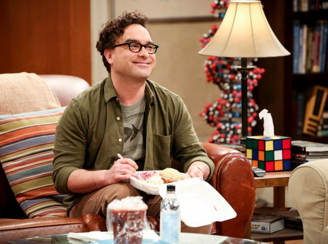 Johnny Galecki pines over The Big Bang Theory as he throws it back to 100th episode