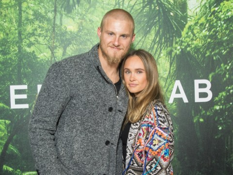 Vikings' Alexander Ludwig and co-star girlfriend wear 'fancy jackets' to Paris fashion week in loved up throwback