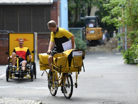 Electric 'cargo bikes' are taking over Germany as a climate-sensitive alternative