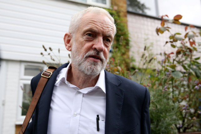 Britain's opposition Labour party leader Jeremy Corbyn leaves his home in north London on September 4, 2019. - British Prime Minister Boris Johnson lost a crucial parliamentary vote on his Brexit strategy on Tuesday after members of his own Conservative Party voted against him, opening the way for possible early elections. (Photo by ISABEL INFANTES / AFP)ISABEL INFANTES/AFP/Getty Images