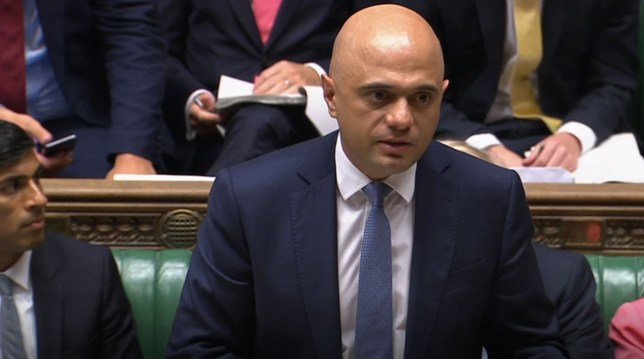 Chancellor of the Exchequer, Sajid Javid, makes a statement to Parliament confirming departmental budgets for 2020-21, in the House of Commons, London. PA Photo. Picture date: Wednesday September 4, 2019. See PA story POLITICS Spending. Photo credit should read: House of Commons/PA Wire