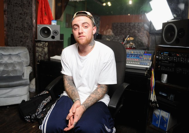 """NEW YORK, NY - JULY 17: MAC Miller performs during Behind The Scenes With MAC Miller Filming Music Choice's """"Take Back Your Music"""" Campaign at Music Choice on July 17, 2013 in New York City. (Photo by Jamie McCarthy/Getty Images)"""