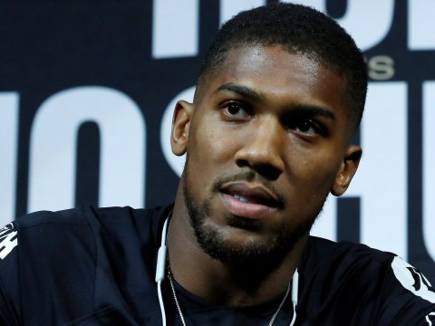 Anthony Joshua explains his beef with Lennox Lewis: 'Why's he always coming attacking me?'