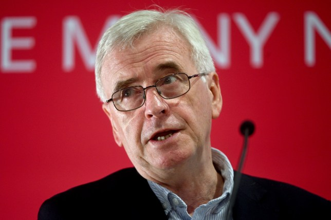 "File photo dated 13/7/2019 of Shadow chancellor John McDonnell, who has ruled out making deals with the SNP over a second independence referendum in exchange for supporting a Labour government. PA Photo. Issue date: Sunday September 8, 2019. Mr McDonnell was asked about his comments at the Edinburgh Festival Fringe that Labour would not block a second Scottish independence referendum and insisted ""there are no deals whatsoever"" with the SNP. See PA story POLITICS McDonnell. Photo credit should read: Kirsty O'Connor/PA Wire"