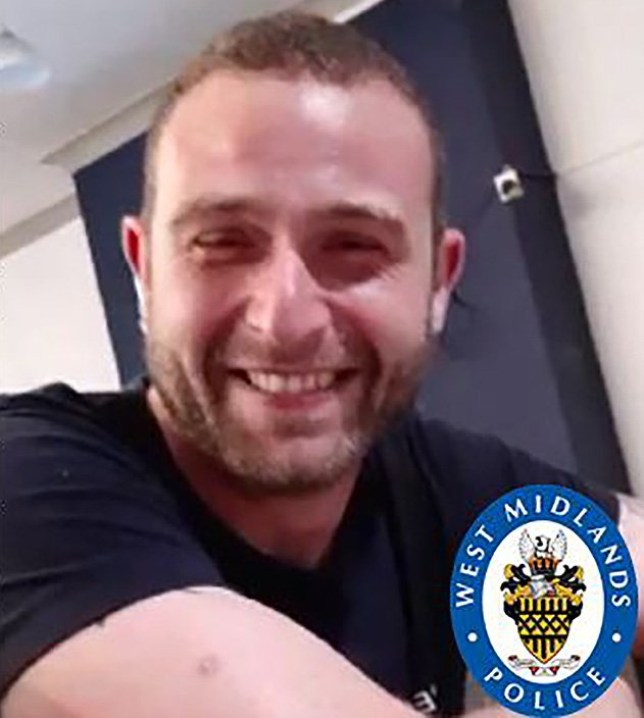 This is the first picture of a tragic dad-of-two who was knifed to death in the street. Dale Grice, 32, was fatally stabbed in Birmingham, West Mids, on Saturday morning. Picture: West Midlands Police METROGRAB