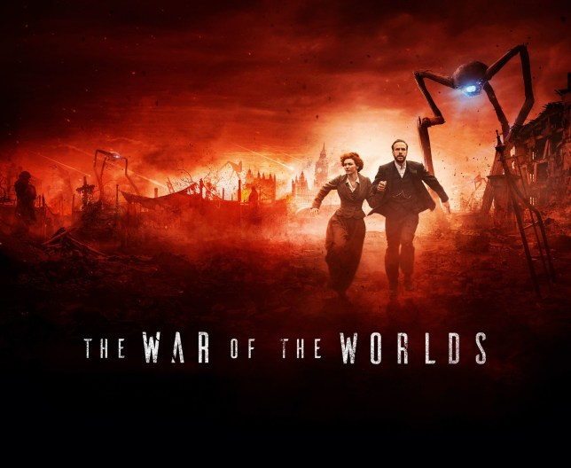 A poster for BBC One's adaptation of War of The Worlds