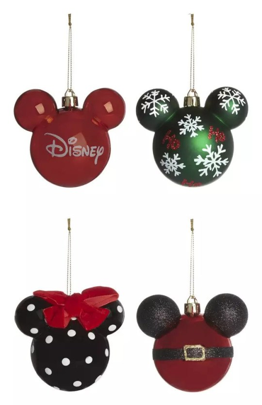 Christmas Minnie Mouse Head.Primark Launches Much Loved Mickey And Minnie Mouse Baubles
