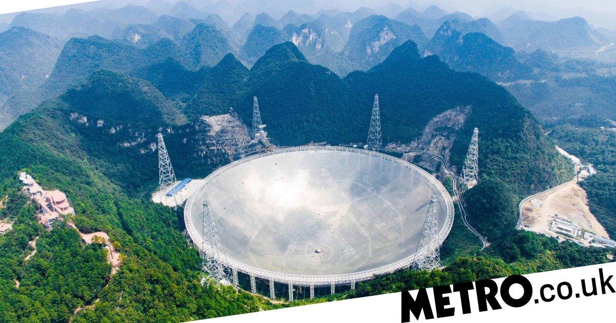 China's radio telescope picked up over 100 mysterious space signals - Metro.co.uk