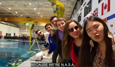 Ariana Grande S Heart Bursts After Nasa Interns Recreate Song