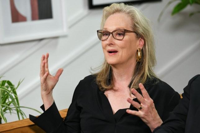 Meryl Streep Variety Studio at Toronto International Film Festival