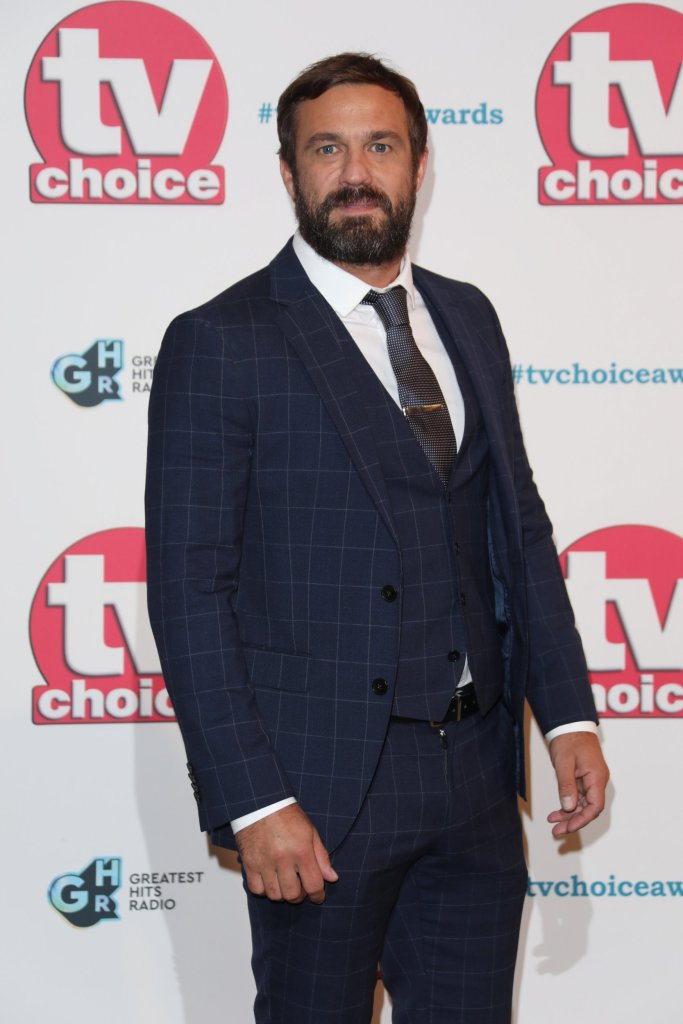 LONDON, ENGLAND - SEPTEMBER 09: Jamie Lomas attends The TV Choice Awards 2019 at Hilton Park Lane on September 9, 2019 in London, England. (Photo by Lia Toby/WireImage)