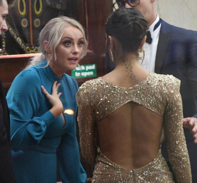 Coronation Street's Katie McGlynn row with Love Island's Maura Higgins at TV Choice Awards